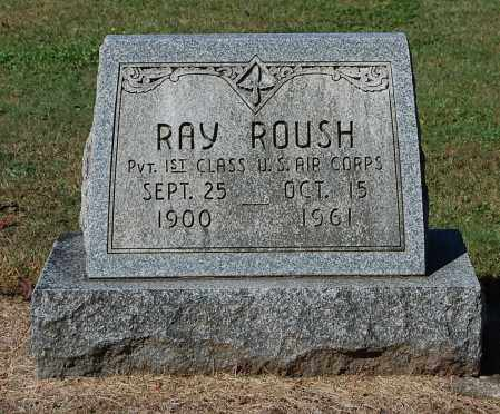 ROUSH, RAY - Gallia County, Ohio | RAY ROUSH - Ohio Gravestone Photos