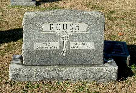 ROUSH, TED - Gallia County, Ohio | TED ROUSH - Ohio Gravestone Photos