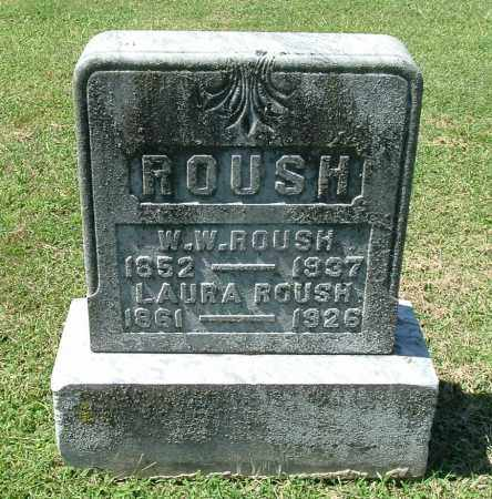 ROUSH, LAURA - Gallia County, Ohio | LAURA ROUSH - Ohio Gravestone Photos