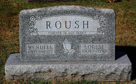 ROUSH, WENDELL - Gallia County, Ohio | WENDELL ROUSH - Ohio Gravestone Photos