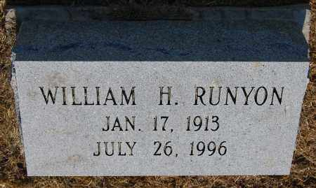 RUNYON, WILLIAM H - Gallia County, Ohio | WILLIAM H RUNYON - Ohio Gravestone Photos