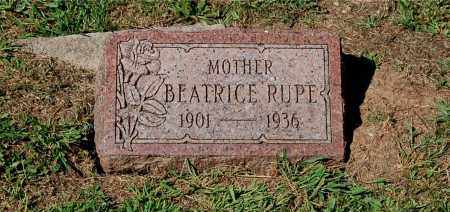 RUPE, BEATRICE - Gallia County, Ohio | BEATRICE RUPE - Ohio Gravestone Photos