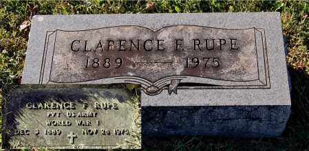 RUPE, CLARENCE F - Gallia County, Ohio | CLARENCE F RUPE - Ohio Gravestone Photos