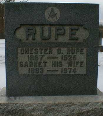 RUPE, CHESTER - Gallia County, Ohio | CHESTER RUPE - Ohio Gravestone Photos