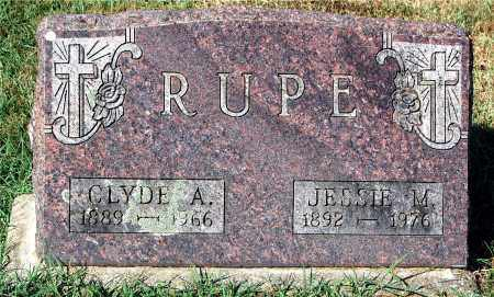 RUPE, CLYDE A. - Gallia County, Ohio | CLYDE A. RUPE - Ohio Gravestone Photos