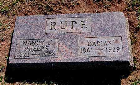 PHELPS RUPE, NANCY J - Gallia County, Ohio | NANCY J PHELPS RUPE - Ohio Gravestone Photos