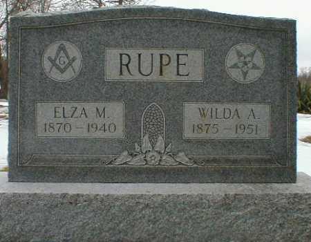 RUPE, ELZA - Gallia County, Ohio | ELZA RUPE - Ohio Gravestone Photos