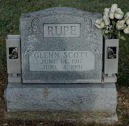 RUPE, GLENN SCOTT - Gallia County, Ohio | GLENN SCOTT RUPE - Ohio Gravestone Photos
