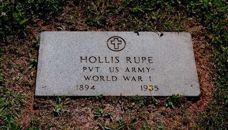 RUPE, HOLLIS S - Gallia County, Ohio | HOLLIS S RUPE - Ohio Gravestone Photos