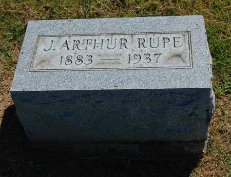 RUPE, J. ARTHUR - Gallia County, Ohio | J. ARTHUR RUPE - Ohio Gravestone Photos