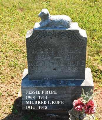 RUPE, JESSIE FRANCIS - Gallia County, Ohio | JESSIE FRANCIS RUPE - Ohio Gravestone Photos