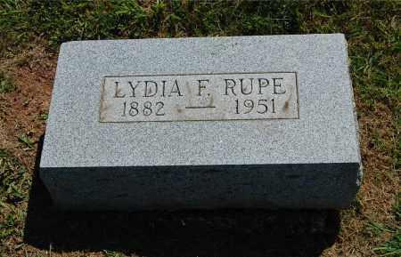 RUPE, LYDIA FLORENCE - Gallia County, Ohio | LYDIA FLORENCE RUPE - Ohio Gravestone Photos