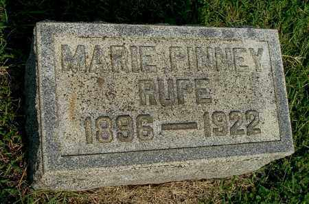 PINNEY RUPE, MARIE - Gallia County, Ohio | MARIE PINNEY RUPE - Ohio Gravestone Photos
