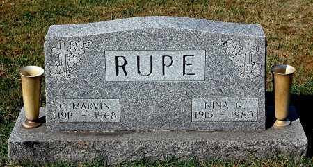 RUPE, C. MARVIN - Gallia County, Ohio | C. MARVIN RUPE - Ohio Gravestone Photos