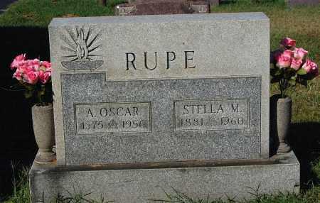 RUPE, A. OSCAR - Gallia County, Ohio | A. OSCAR RUPE - Ohio Gravestone Photos