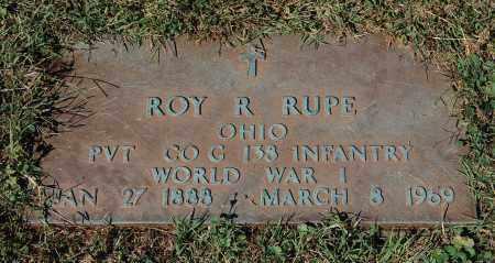 RUPE, ROY R - Gallia County, Ohio | ROY R RUPE - Ohio Gravestone Photos