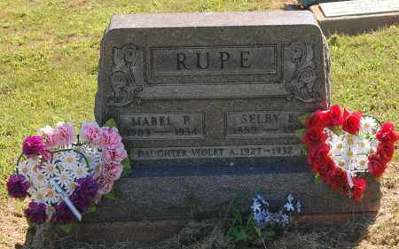 RUPE, MABEL P - Gallia County, Ohio | MABEL P RUPE - Ohio Gravestone Photos