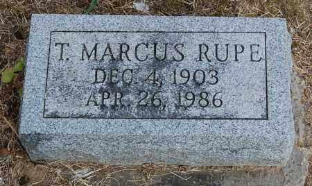 RUPE, T. MARCUS - Gallia County, Ohio | T. MARCUS RUPE - Ohio Gravestone Photos