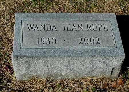 RUPE, WANDA JEAN - Gallia County, Ohio | WANDA JEAN RUPE - Ohio Gravestone Photos
