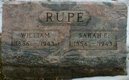 RUPE, WILLIAM - Gallia County, Ohio | WILLIAM RUPE - Ohio Gravestone Photos