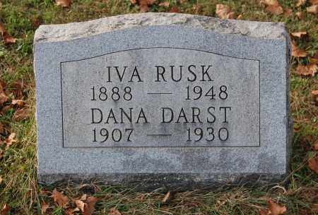 RUSK, IVA - Gallia County, Ohio | IVA RUSK - Ohio Gravestone Photos