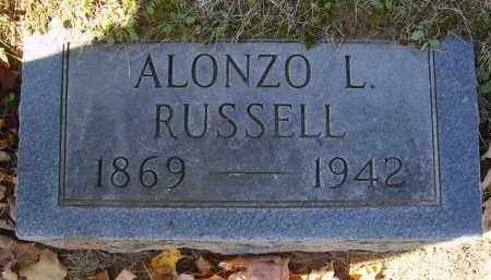 RUSSELL, ALONZO - Gallia County, Ohio | ALONZO RUSSELL - Ohio Gravestone Photos