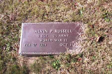 RUSSELL, ALVIN P. - Gallia County, Ohio | ALVIN P. RUSSELL - Ohio Gravestone Photos