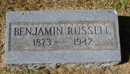 RUSSELL, BENJAMIN - Gallia County, Ohio | BENJAMIN RUSSELL - Ohio Gravestone Photos