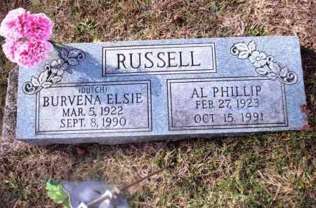 RUSSELL, AL PHILLIP - Gallia County, Ohio | AL PHILLIP RUSSELL - Ohio Gravestone Photos