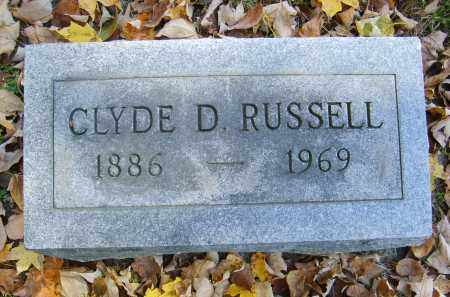 RUSSELL, CLYDE - Gallia County, Ohio | CLYDE RUSSELL - Ohio Gravestone Photos