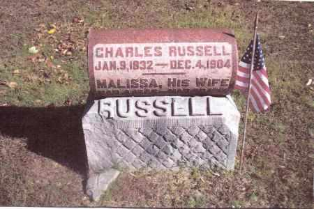 RUSSELL, MALISSA - Gallia County, Ohio | MALISSA RUSSELL - Ohio Gravestone Photos