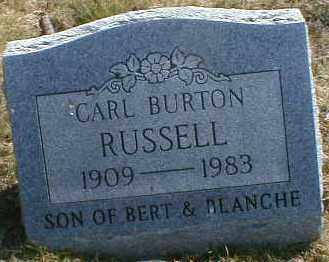 RUSSELL, CARL - Gallia County, Ohio | CARL RUSSELL - Ohio Gravestone Photos