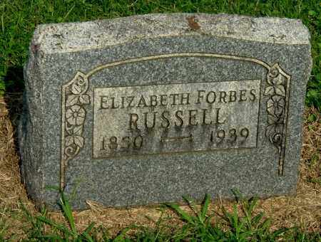 FORBES RUSSELL, ELIZABETH - Gallia County, Ohio | ELIZABETH FORBES RUSSELL - Ohio Gravestone Photos