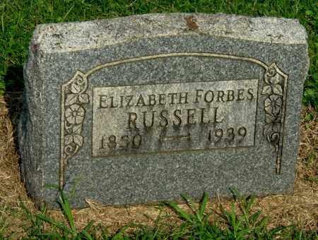 RUSSELL, ELIZABETH - Gallia County, Ohio | ELIZABETH RUSSELL - Ohio Gravestone Photos