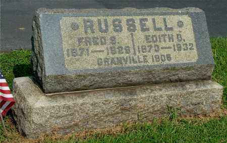 RUSSELL, EDITH D - Gallia County, Ohio | EDITH D RUSSELL - Ohio Gravestone Photos