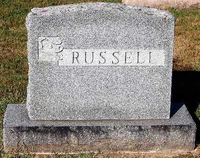 RUSSELL, FAMILY MONUMENT - Gallia County, Ohio | FAMILY MONUMENT RUSSELL - Ohio Gravestone Photos