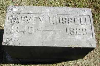 RUSSELL, HARVEY - Gallia County, Ohio | HARVEY RUSSELL - Ohio Gravestone Photos