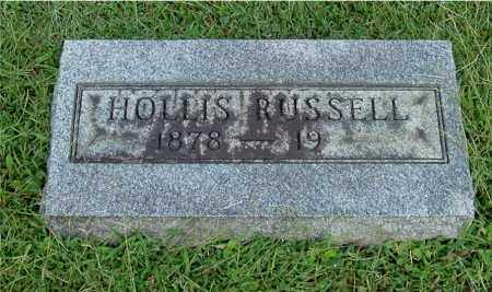 RUSSELL, HOLLIS - Gallia County, Ohio | HOLLIS RUSSELL - Ohio Gravestone Photos
