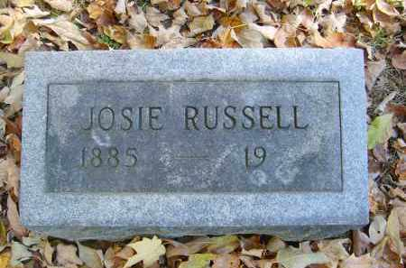 RUSSELL, JOSIE - Gallia County, Ohio | JOSIE RUSSELL - Ohio Gravestone Photos