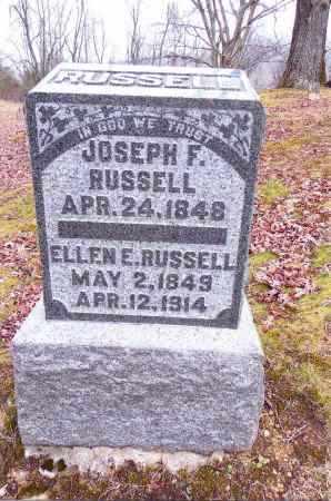 RUSSELL, ELLEN E. - Gallia County, Ohio | ELLEN E. RUSSELL - Ohio Gravestone Photos