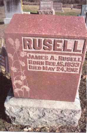 RUSSELL, JAMES A. - Gallia County, Ohio | JAMES A. RUSSELL - Ohio Gravestone Photos