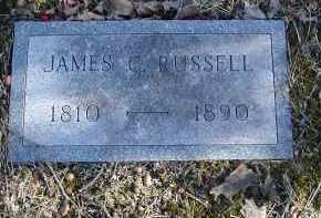 RUSSELL, JAMES C. - Gallia County, Ohio | JAMES C. RUSSELL - Ohio Gravestone Photos