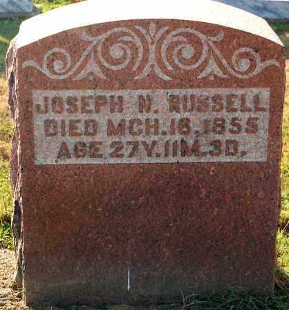 RUSSELL, JOSEPH N. - Gallia County, Ohio | JOSEPH N. RUSSELL - Ohio Gravestone Photos