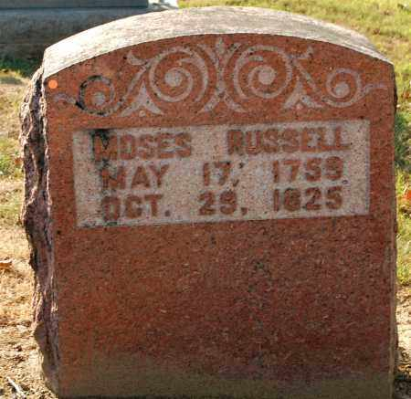 RUSSELL, MOSES - Gallia County, Ohio | MOSES RUSSELL - Ohio Gravestone Photos