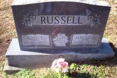 RUSSELL, ARMENDA - Gallia County, Ohio | ARMENDA RUSSELL - Ohio Gravestone Photos