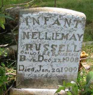 RUSSELL, NELLIE MAY (INFANT) - Gallia County, Ohio | NELLIE MAY (INFANT) RUSSELL - Ohio Gravestone Photos