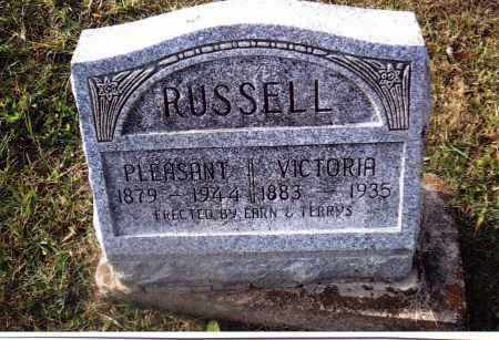 RUSSELL, PLEASANT - Gallia County, Ohio | PLEASANT RUSSELL - Ohio Gravestone Photos