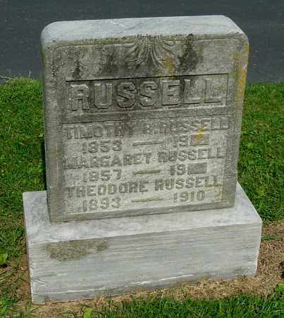 ZUSPAN RUSSELL, MARGARET - Gallia County, Ohio | MARGARET ZUSPAN RUSSELL - Ohio Gravestone Photos