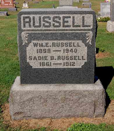 RUSSELL, SADIE B - Gallia County, Ohio | SADIE B RUSSELL - Ohio Gravestone Photos