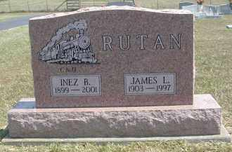 RUTAN, INEZ - Gallia County, Ohio | INEZ RUTAN - Ohio Gravestone Photos